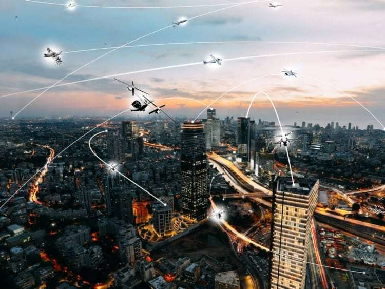 NASA Will Pilot Urban Drone Traffic Management In Texas And Nevada